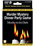 Murder in the Dark - Murder mystery gift box - downloadable game for 6,8,10 or 12 players