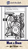 Sew Vintage Mark A Block Marking Templates by Lunch Box Quilts