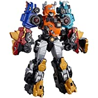 Dinocore Ultra D-Saber Tri, 3 stages combining transformable robot composed of five seperate units