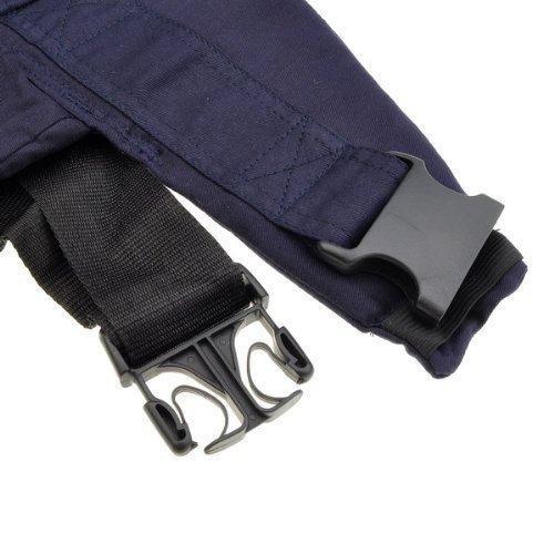 tfxwerws blau verstellbar Baby Carrier Outdoor Wrap Full Rucksack Infant Kinder Schnalle Sling Pad Geschenk