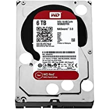 WD Red 6TB NAS Hard Disk Drive - 5400 RPM Class SATA 6 Gb/s 64MB Cache 3.5 Inch - WD60EFRX