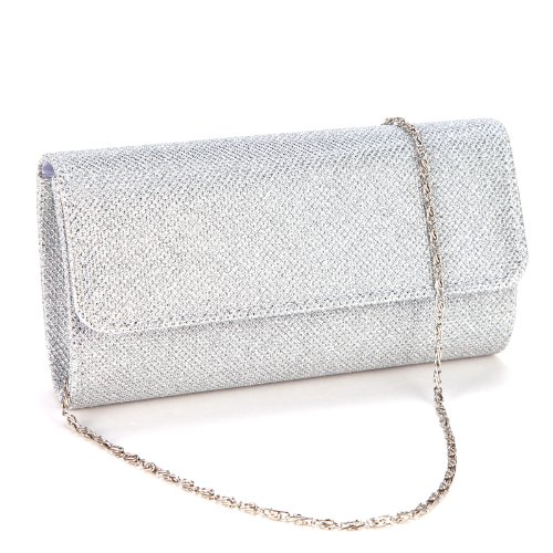 Ladies Evening Party Small Clutch Bag Bridal Purse Handbag Cross Body Tote by Anladia