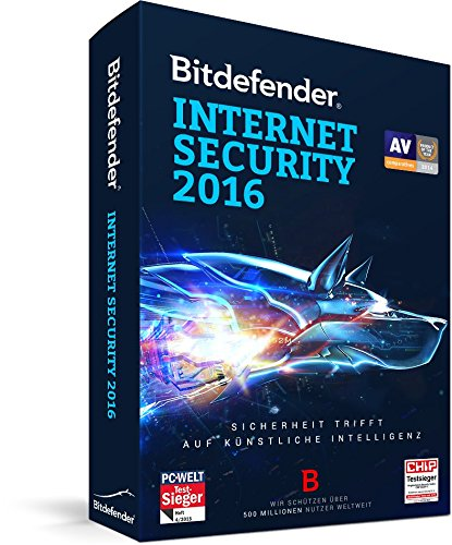 Bitdefender Internet Security 2016 3 PC / 1 Jahr (Lizenz)