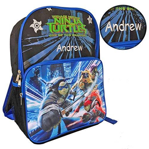 (Personalized Licensed Ninja Turtles Character Backpack - 16)