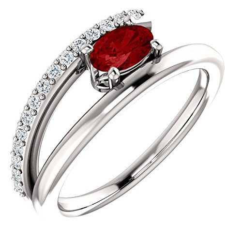 Gold Chatham Ruby Ring - 8