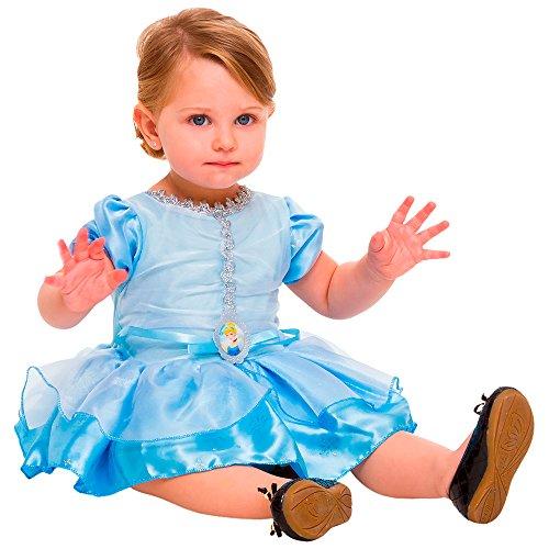 Regina 107895.0, Fantasia Princesa Cinderela Baby, Multicor