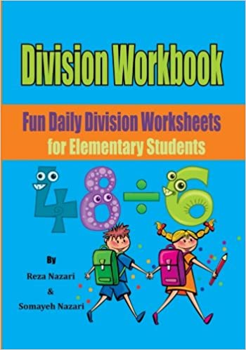 Division Workbook: Fun Daily Division Worksheets for Elementary ...