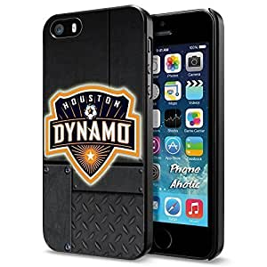 Soccer MLS Houston Dynamo LOGO SOCCER FOOTBALL, Cool iPhone 4s 4s Smartphone Case Cover Collector iphone Black