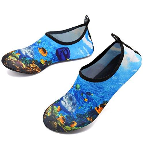 Profonde Pieds Femmes Slip Nautique Hommes Chaussettes on Pour Mer À De Enfants Rapide Yoga Séchage Vifuur Sport Chaussures Aqua Nus IqaBqwHC
