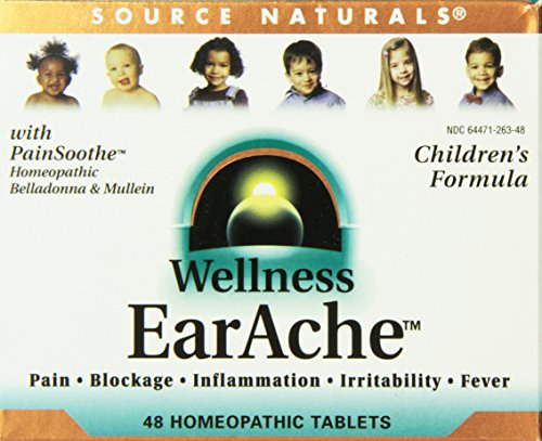 Source Naturals Wellness Earache, 48 - Earache Pain Reliever