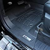 #8: Westin 72-110084 Black Sure-Fit Front Floor Liner for Ford Duty Super/Crew Cab 2017-2018