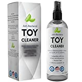 Erotic Toys Cleaner #1 Anti-Bacterial Hygienic Disinfectant for Adult Toys & Games - Safe and Effective Alcohol Free Paraben Free Cruelty Free Perfect for Latex Silicon and Rubber 8 oz Spray