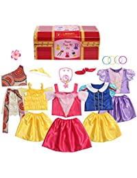Girls Princess Costume Dress up Trunk for Kids Ages 3-6 Years