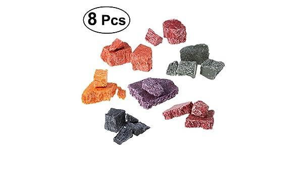 ULTNICE 8pcs Velas Tinte Cera 8 Colores Dye Chips para DIY Making Velas: Amazon.es: Juguetes y juegos