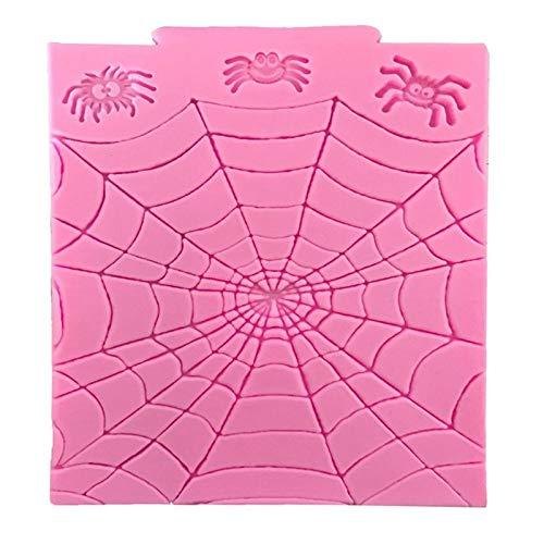 1 piece 1 Piece Halloween Spider Web Silicone