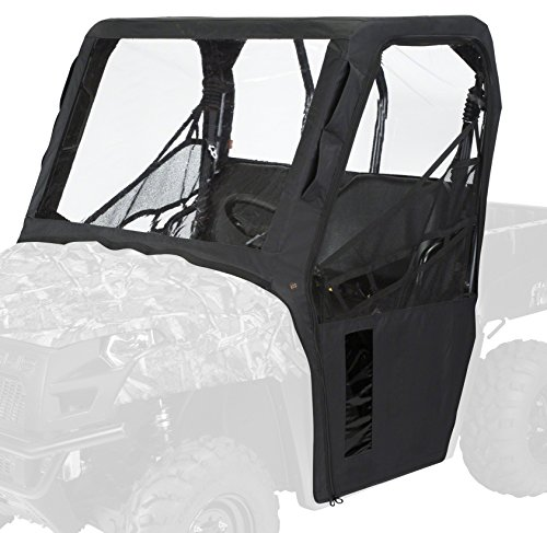(Classic Accessories QuadGear Black UTV Cab Enclosure (Polaris Ranger 400, 570, 800))