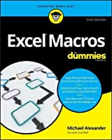 Excel Macros For Dummies, 2nd Edition Front Cover