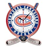 Wincraft NHL 2741011 Montreal Canadiens High Definition Plaque Clock