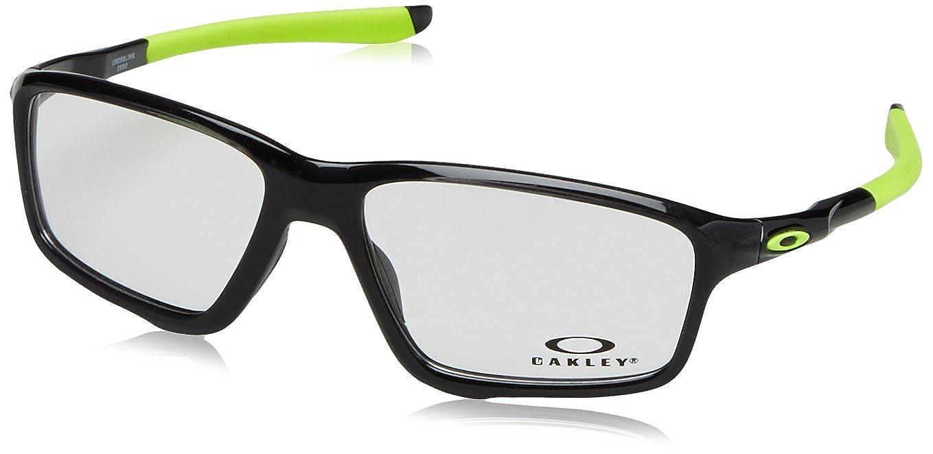 e4098607cc418 ... buy oakley crosslink zero black rx eyeglasses ox8076 02 at amazon mens  clothing store e9ab5 60464