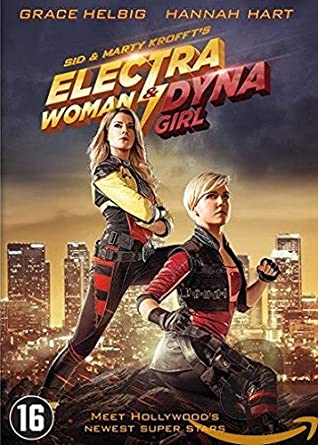 electra woman and dyna girl dvd