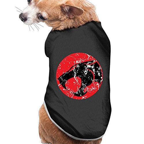 [Caxlorb Thunder Cats Cat-like Humanoid Aliens Funny Doggie T-Shirt L Black] (Costumes Centurion)