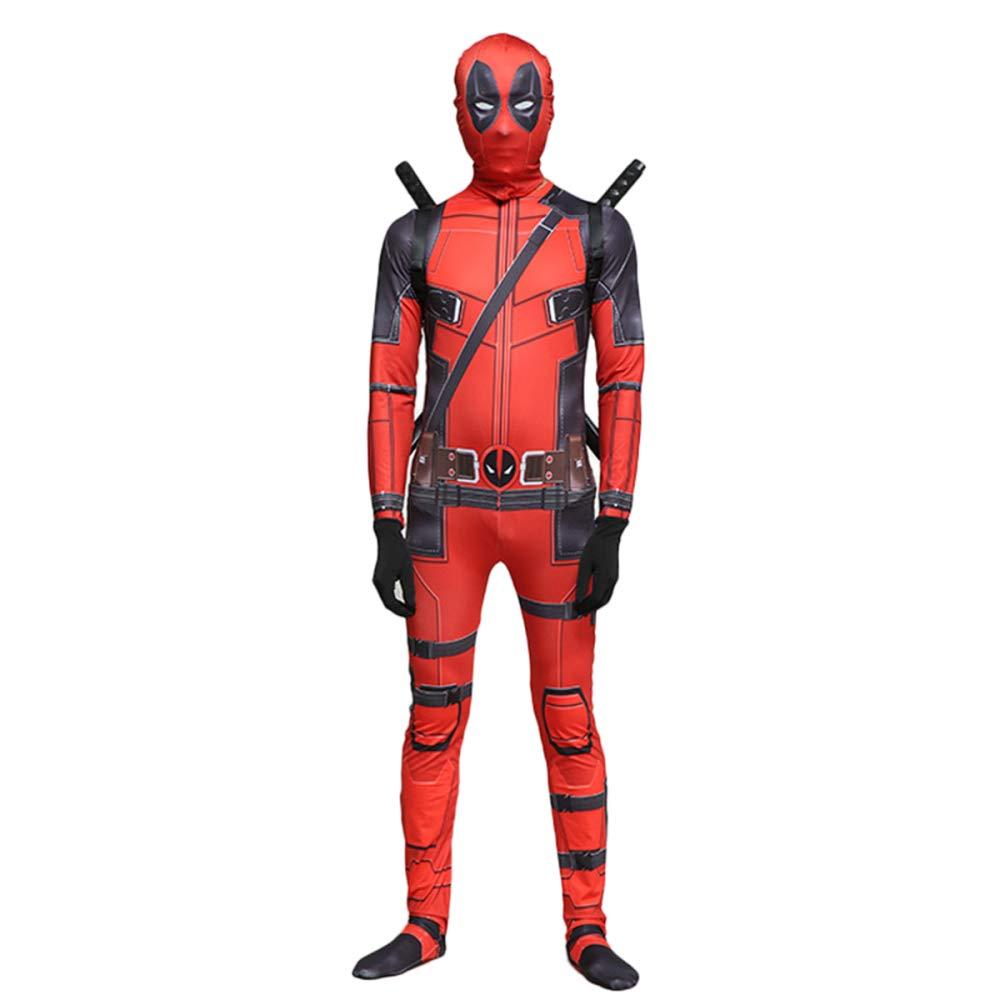 GIFT ZHIZHUXIA Cosplay Costume per Adulti Costume per Bambini Costume di Halloween Tute Tute per Il Film Costume Body Ufficiale Spiderman ( Colore   Adult , Dimensione   XL )