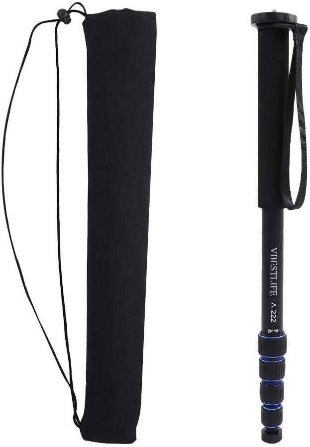 Handheld Extension Monopod Aluminum Alloy Telescopic Monopod Pole Base Photography Extended Rod Stand Holder for DSLR//SLR Camera