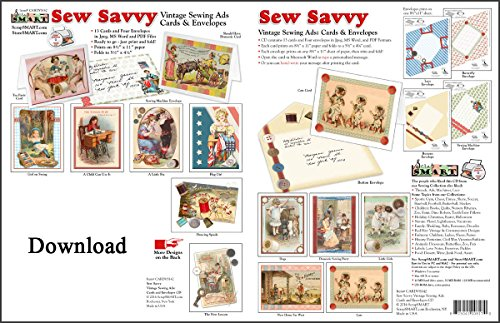 Sew Card (ScrapSMART - Sew Savvy Cards and Envelopes Collection for Mac [Download])