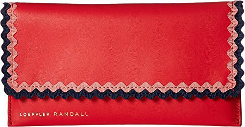 Loeffler Randall Women's Everything Wallet, Bright Red/Multi, One Size by Loeffler Randall