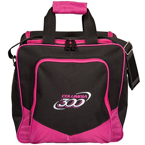 Used, Columbia 300 White Dot Single Bowling Bag, Pink for sale  Delivered anywhere in USA