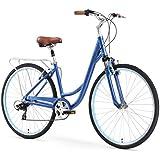 sixthreezero Body Ease Women's Comfort Bicycle with Rear Rack