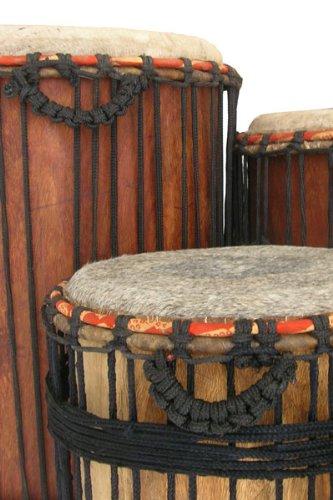 African Dundumba Dunun Bass Drum - 15 X 28 with stick