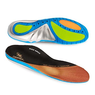 Aetrex Custom Select Series High Arch Orthotics Shoe Inserts for Men and Women