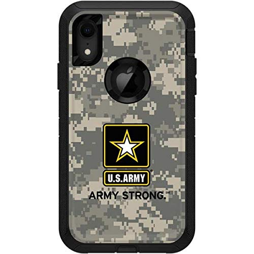 (Skinit US Army Digital Camo OtterBox Defender iPhone XR Skin - Army OtterBox Case Decal - Ultra Thin, Lightweight Vinyl Decal Protection )
