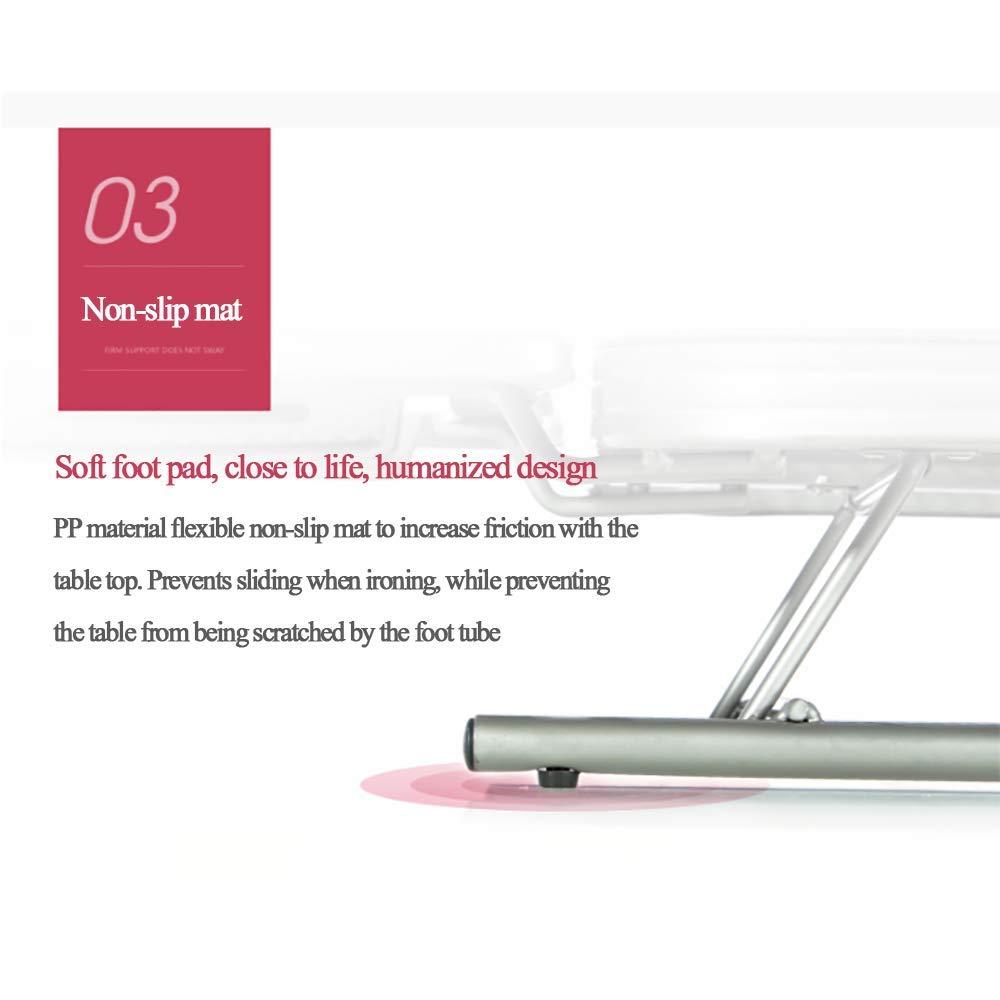 dise/ño de Mesa Paneles extragrandes QJJML Tablas de Planchar portatiles,Tabla de Planchar sobremesa Grande,dise/ño Plegable Planchado es Muy Simple,A Colores exquisitos