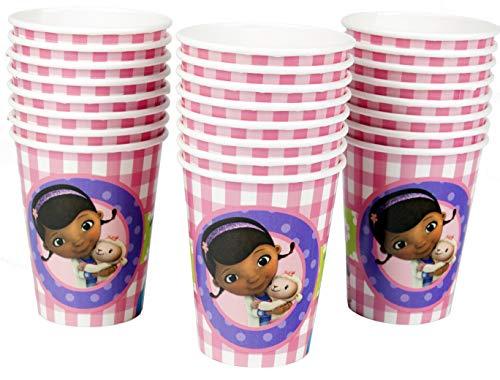 Ziggos Party Doc McStuffins 9oz Paper Cups Value Pack (24ct)]()