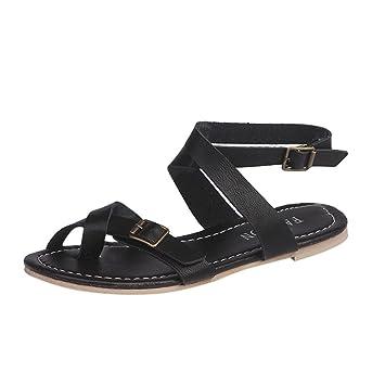 Zapatillas 42 Verano Luckygirls Playa Planos34 Romano Estilo Casual Chanclas Cruzado De Mujer Sandalias Vacaciones Zapatos Chancleta Moda Cómodo v0mN8wOyn