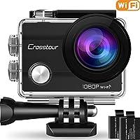 Crosstour Action Camera Underwater Cam WiFi 1080P Full HD...