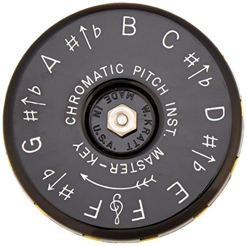 Kratt MK1 Master Key Chromatic Pitch Pipe (F to F) by Kratt (Image #2)
