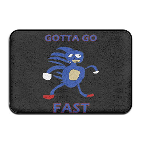 23'6''x15'7 In Area Rugs Carpet For House Sanic Gotta Go Fast Sonic The Hedgehog (2)