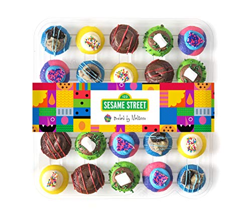 Baked by Melissa Cupcakes Sesame Street Collection - Assorted Bite-Size Cupcakes (25 Cupcakes) (Baked Cupcakes Melissa By)