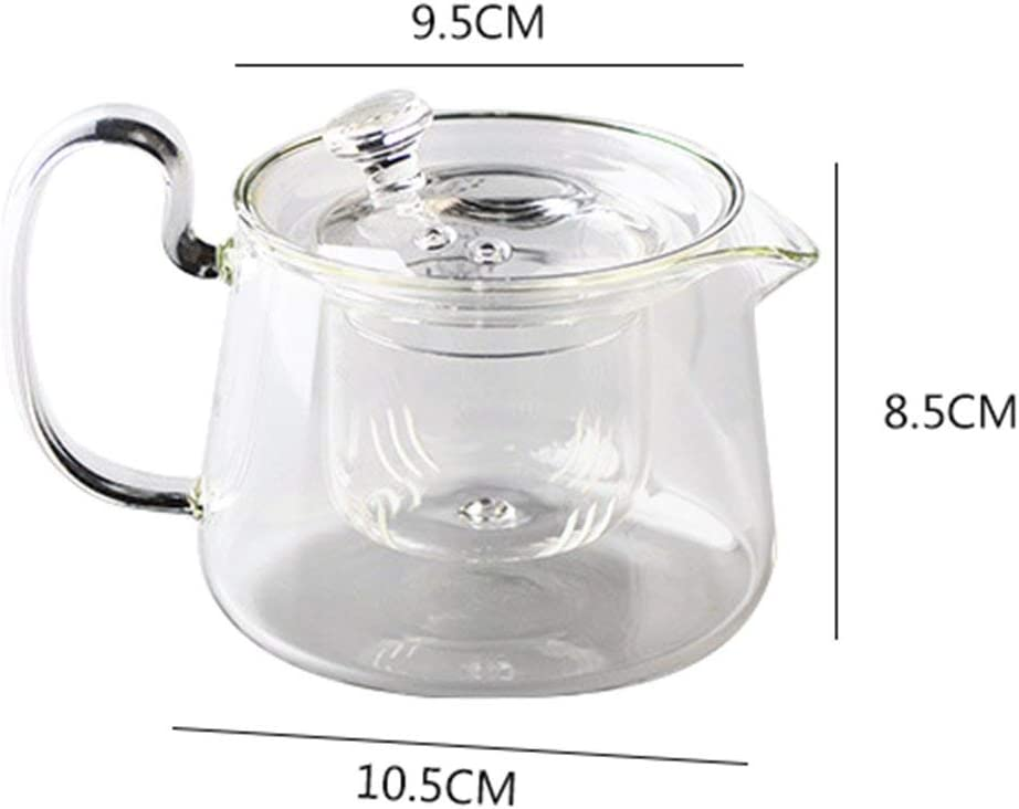 Betrothales Tetera Glass 580Ml Tetera Cafetera Casual Chic De ...