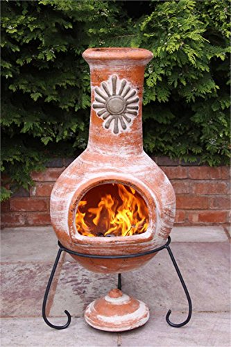 outdoor clay fireplace - 1