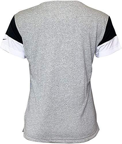Nike Women's T-Shirts Oakland Raiders Short Sleeve Crew Neck T-Shirt 2