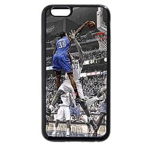 popular case Customized Black Soft Rubber TPU iPhone 6 plus 5.5 Case, NBA Superstar Oklahoma City Thunder Kevin Durant Black Soft Rubber TPU iPhone 6 plus 5.5 Case