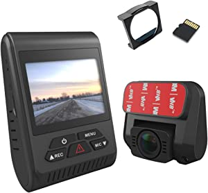 Street Guardian SG9663DCPRO 2020 Dual Channel Wi-Fi Dash Camera with GPS, CPL & 512GB MicroSD Card