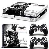 Ps4 Playstation 4 Console Skin Decal Sticker Batman Arkham Knight + 2 Controller Skins Set