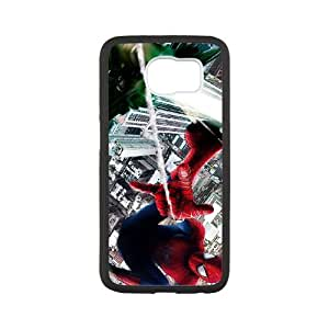 Spiderman Samsung Galaxy S6 Cell Phone Case White SP1295764