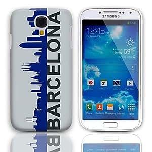 MOFY- Barcelona Style estuche r'gido con paquete de 3 protectores de pantalla para Samsung Galaxy S4 mini-I9190