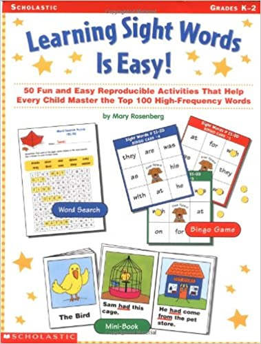 Amazon.com: Learning Sight Words is Easy!: 50 Fun and Easy ...
